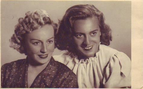Venera Vasilescu (dreapta), impreuna cu mama ei, Rosa von Kraus