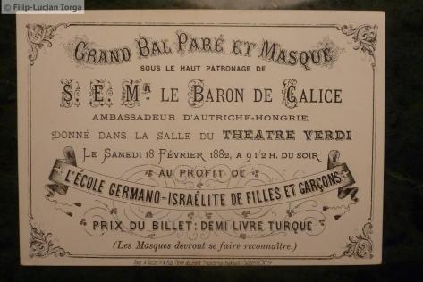 Invitatie la bal Michel Onou